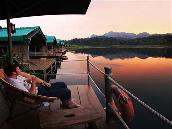 Floating Rainforest Camp - Elephant Hills