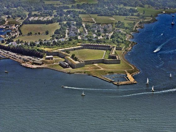 Fort Adams, Newport, Rhode Island