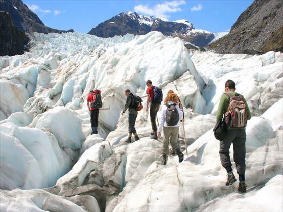 Franz Josef Glacier hikers
