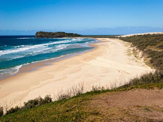 how to get to fraser island from brisbane