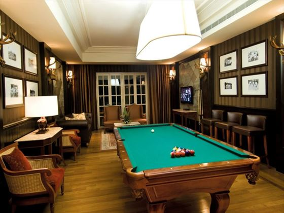 Games room and library at The Danna Langkawi