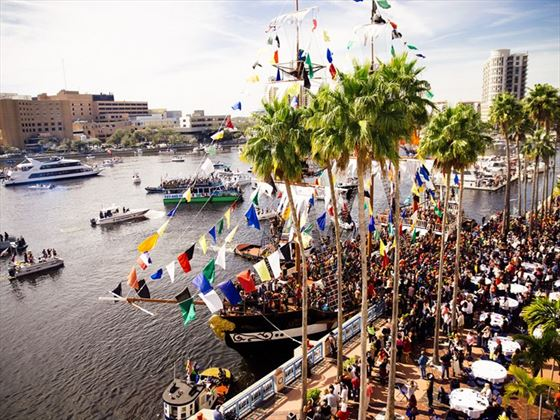 Gasparilla pirate invasion