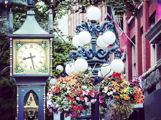 Gastown's steam clock