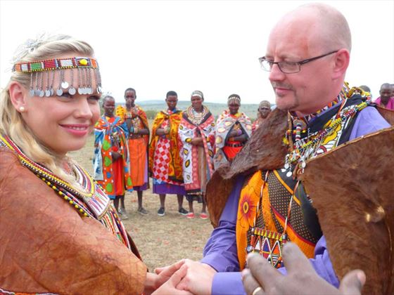 Wedding at Porini Camp