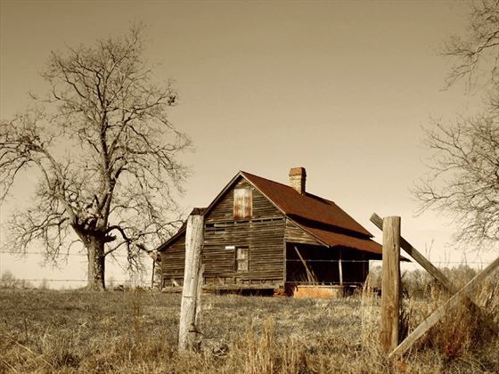 Georgia farmhouse
