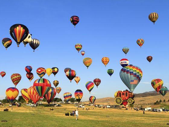 Great Reno Balloon Race at Rancho San Rafael Park