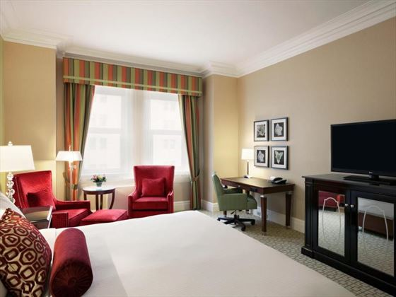 Guestroom  at Fairmont Chateau Laurier
