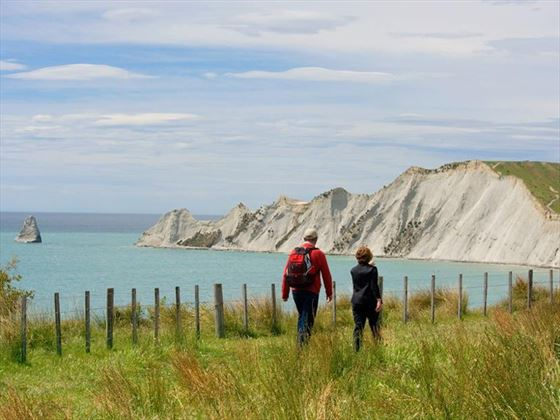 Guided walks along the coast