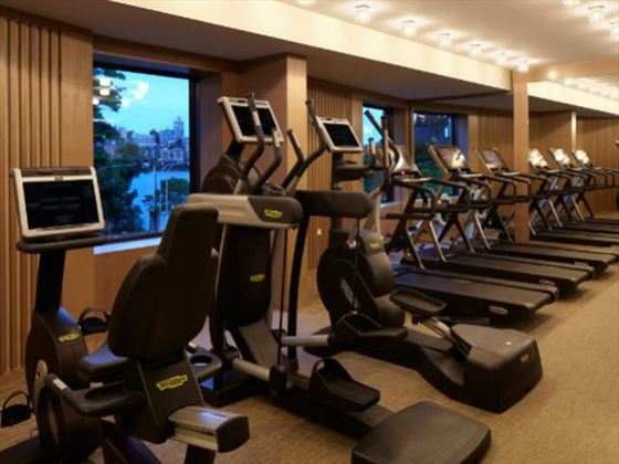 Gym at Park Hyatt Sydney