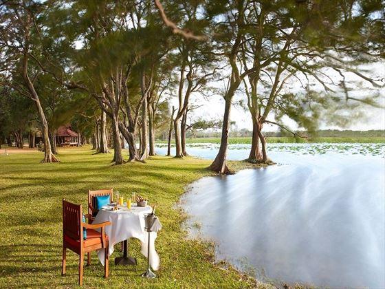 Habarana Village by Cinnamon, champagne breakfast