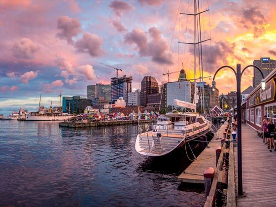 Halifax waterfront, Nova Scotia