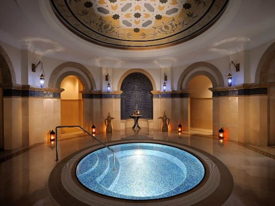 Spa hammam pool at One&Only Royal Mirage Arabian Court