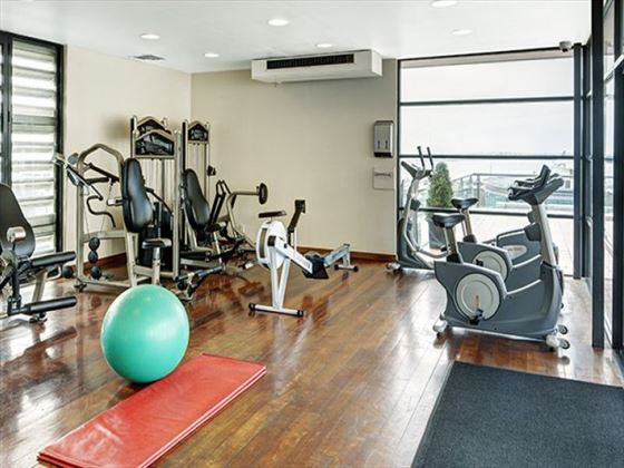 Heritage Auckland Hotel gym