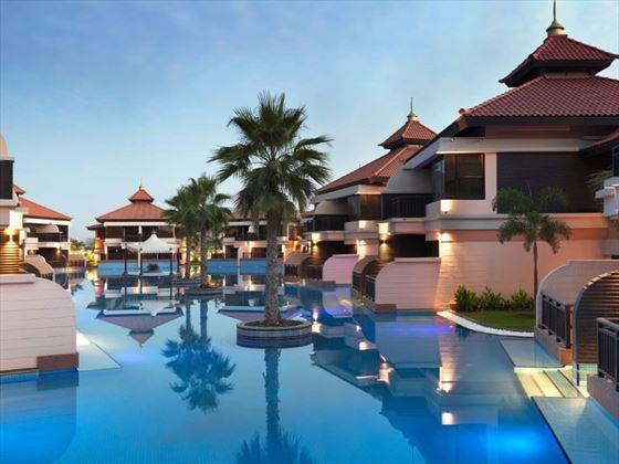 Anantara The Palm Dubai Lagoon Villa View