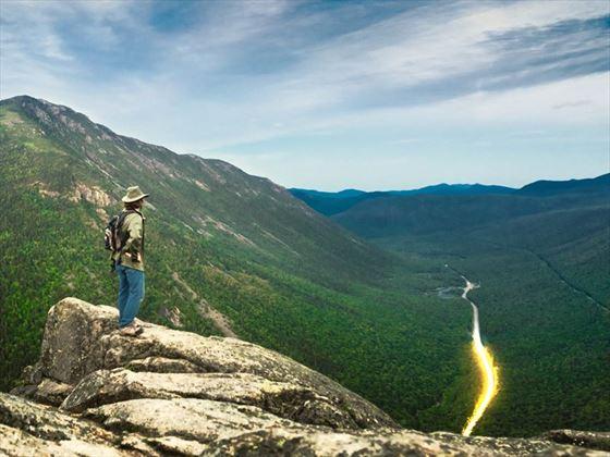 Hiking Mount Willard, White Mountains