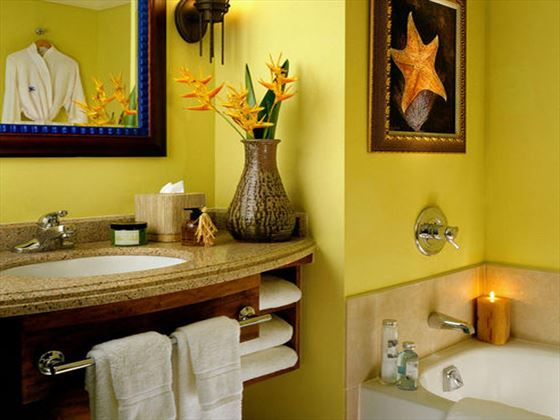 Hilton Barbados Resort bathroom