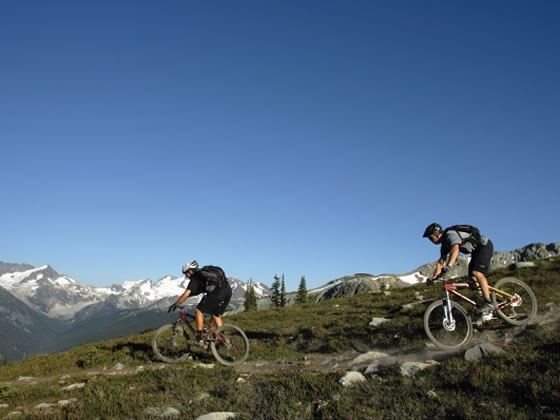 Mountain biking, Whistler