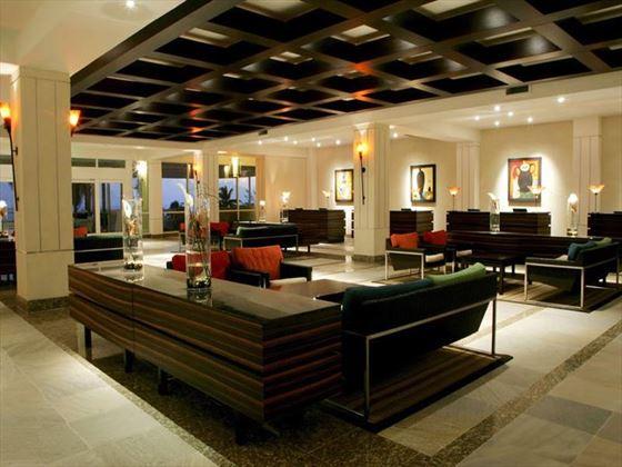 Hilton Rose Hall Resort & Spa lobby seating area