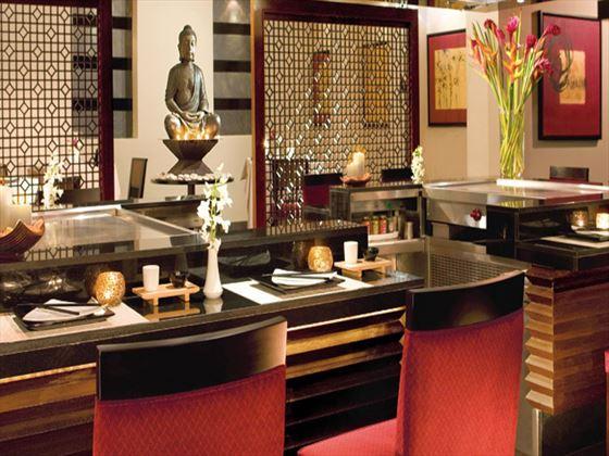 Himitsu restaurant at Secrets Wild Orchid