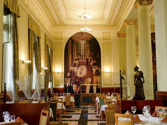 Hotel Telegrafo restaurant
