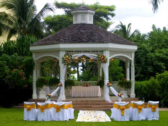 Wedding Gazebo at Hilton Rose Hall