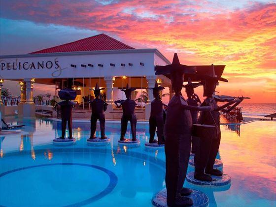 The pool at Hyatt Zilara Cancun