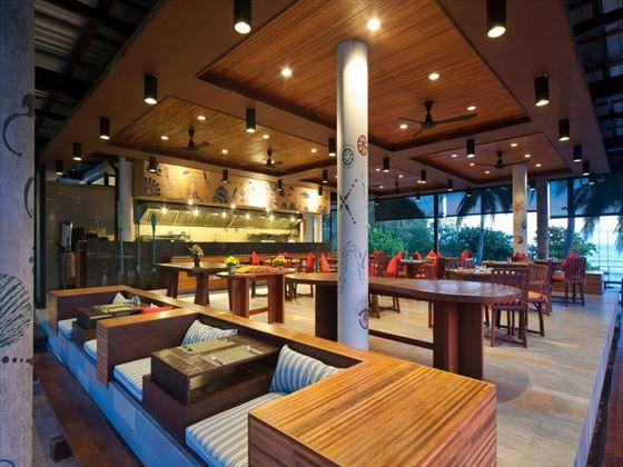 Dining at InnAsia at Holiday Inn Resort, Krabi