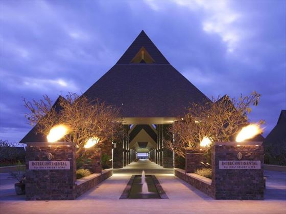 InterContinental Fiji Golf Resort & Spa entrance