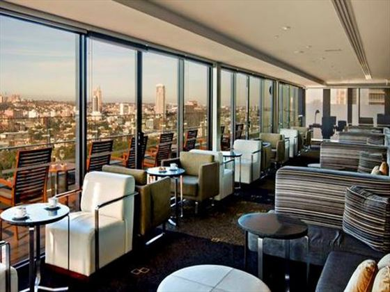 Intercontinental Sydney club floor lounge