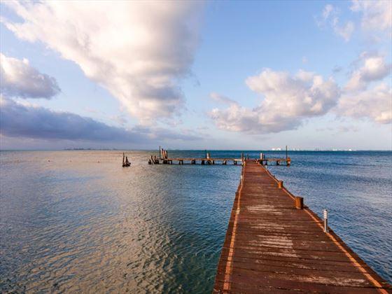 Isla Mujeres Palace pier
