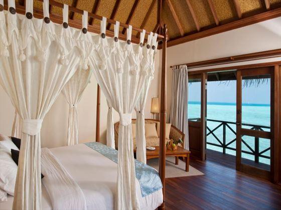 Jacuzzi Water Villa at Vilu Reef Beach & Spa Resort