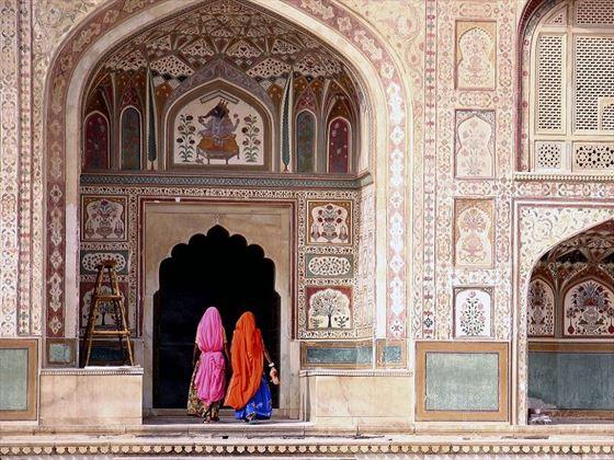 Ornate Palaces in Jaipur