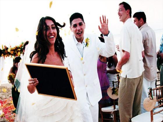 Wedding ceremony at Jamaica Inn