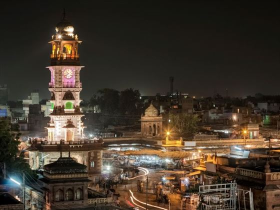 Jodhpur at night
