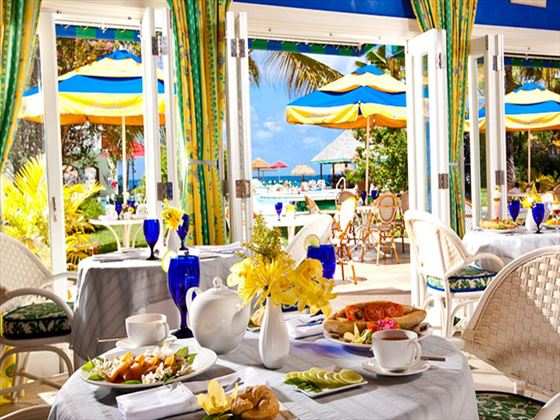 Josephines restaurant at Sandals Grande St Lucian Spa & Beach Resort