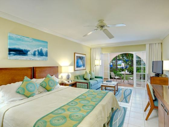 Junior Suite Pool Garden View at Turtle Beach by Elegant Hotels