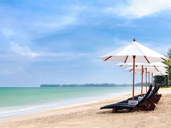 The beach at JW Marriott Khao Lak