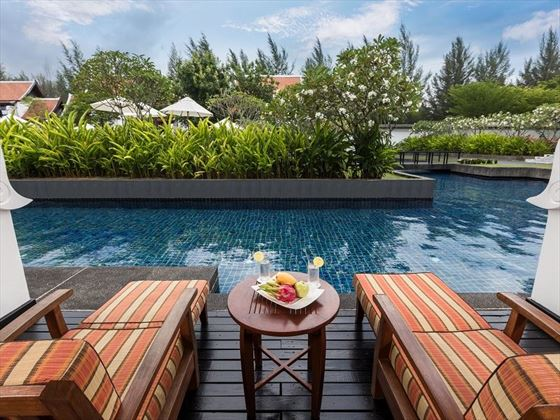 JW Marriott Khao Lak Deluxe Pool Access balcony