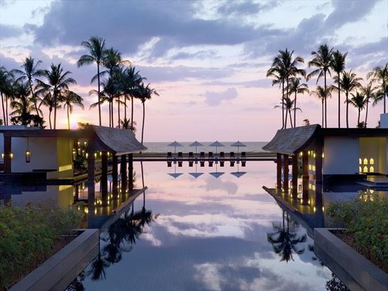 JW Marriott Khao Lak ocean views