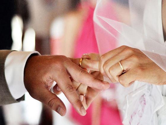 Vows in the making at Kamandalu Resort