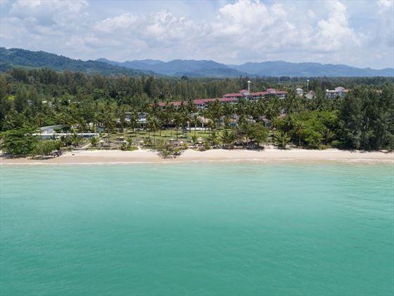 The beach at Kantary Beach Hotel Khao Lak