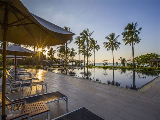 Ocean Pool at Kantary Beach Hotel Khao Lak