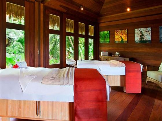 Kempinski Seychelles Resort spa room