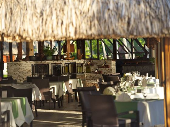 Kia Ora Resort, Te Rairoa Restaurant