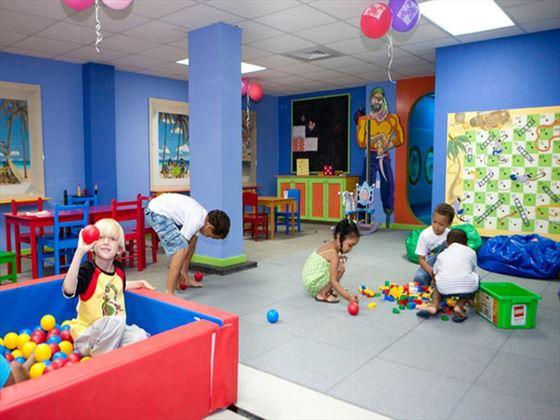 Kids club at Bougainvillea Beach Resort