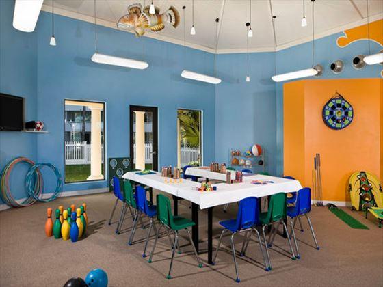 Kids Club at Melia Nassau Beach