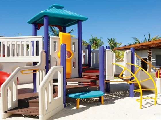 Kids playground at Long Beach