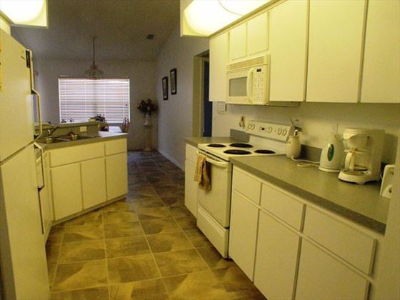 Kitchen at New Port Richey Homes