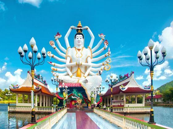 Kuan Yin statue in Koh Samui
