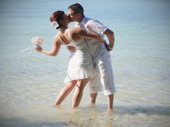 Bride & Groom Key West wedding